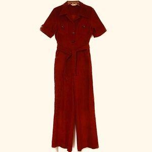 Vintage Corduroy Jumpsuit